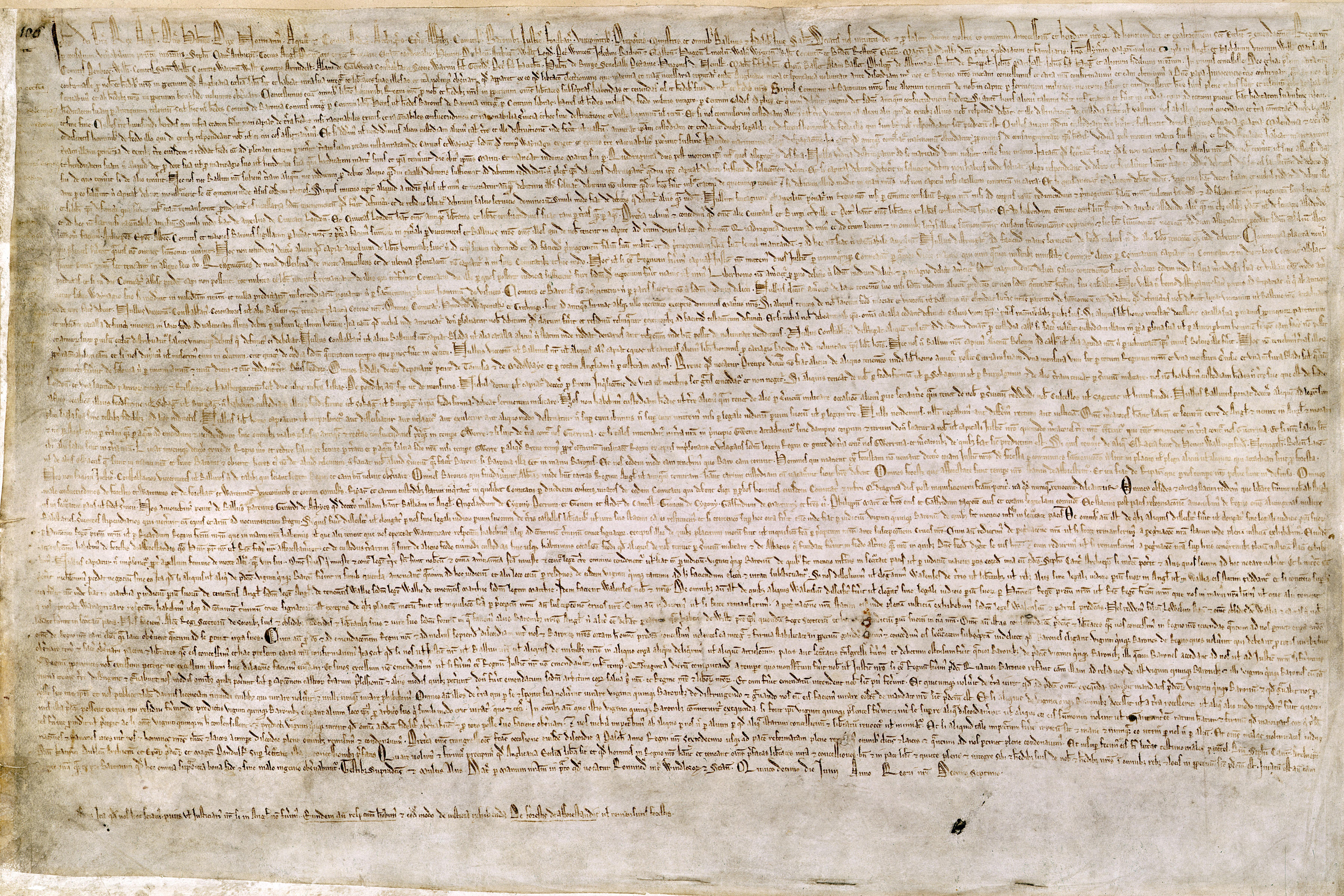 La Carta Magna y otros mitos constitucionales