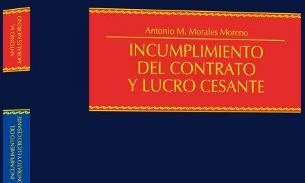 Incumplimiento del contrato y lucro cesante