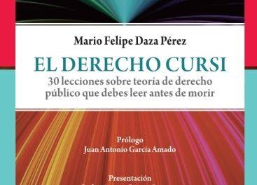 Prólogo al Derecho Cursi de Mario Daza