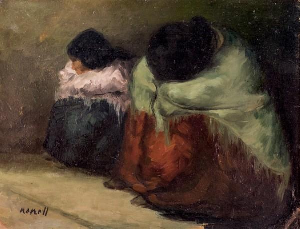 Un cuadro firmado por Isidro Nonell